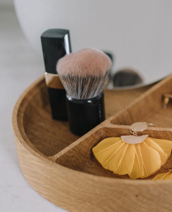 boite à bijoux coiffeuse miroir